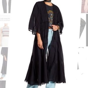 Free People solid duster cardigan